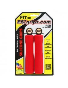 ESI Grips - FIT XC - Czerwone