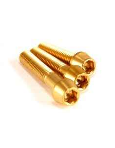 śruba M5x25 S stare złoto -...