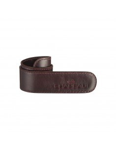Opaska na spodnie (spinka nogawek/skura) - OXBLOOD-2816