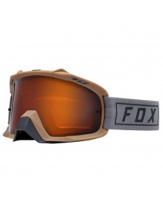 Google FOX AIR Space Enduro Grey/szyba dual Orange-3992