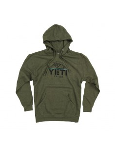 Bluza Yeti overlock pullower ARMY GREEN - XL-4186