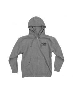 Bluza męska Ridge Hoodie ZIP GUNMETAL - L-4177