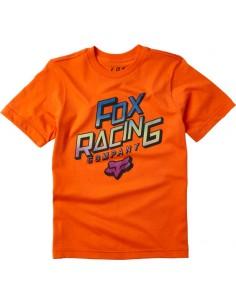 T-Shirt Fox Junior Cruiser ORANGE FLAME - YS-4669