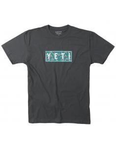 Yeti T-Shirt Slant Ride Tee Heavy Metal - S